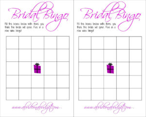 001 Free Bridal Bingo Printable Template Ideas Amazing Blank intended for Blank Bridal Shower Bingo Template