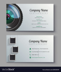 001 Photographer Business Card Template Design For Vector throughout Free Business Card Templates For Photographers