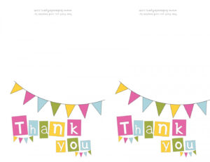 001 Printable Thank You Card Templates Template Exceptional throughout Free Printable Thank You Card Template