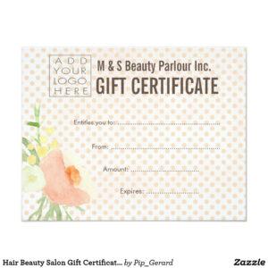 001 Salon Gift Certificate Template Sensational Ideas Free with Salon Gift Certificate Template