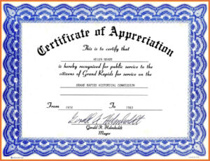 002 Brilliant Ideas Of Employee Recognition Certificate with regard to Free Certificate Templates For Word 2007