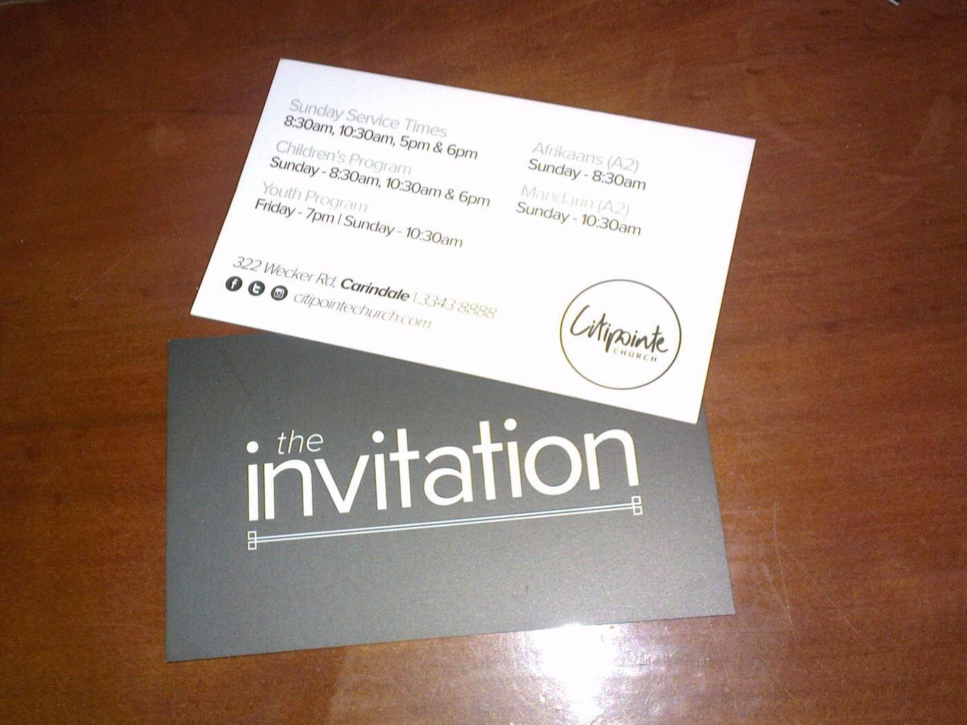 Church Invite Cards Template - Atlantaauctionco com