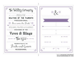 002 Free Program Templates For Word Template Ideas Wedding within Free Printable Wedding Program Templates Word