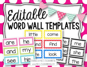 002 Printable Word Wall Template Remarkable Free regarding Blank Word Wall Template Free