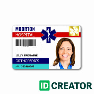 002 Template Ideas Id Badge Free Online Awesome Beepmunk within Doctor Id Card Template