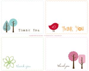002 Thankyou Notes Printable Thank You Card Templates with regard to Christmas Note Card Templates