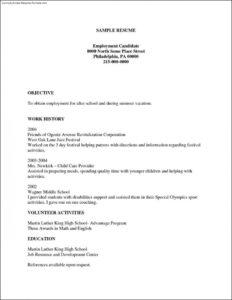 003 Blank Basic Resume Templates Template Magnificent Ideas inside Free Basic Resume Templates Microsoft Word