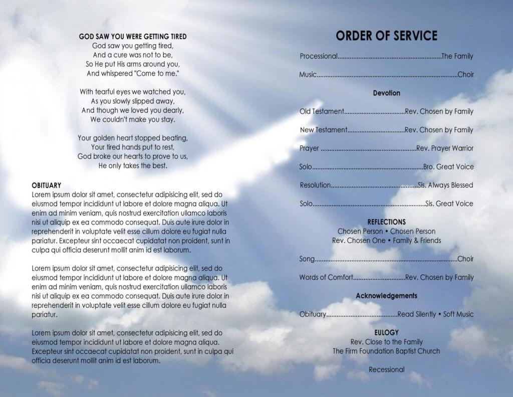 003 Church Program Template Word Free Astounding Ideas Intended For Church Program Templates Word