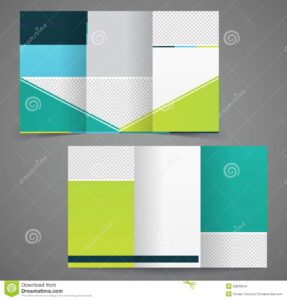 003 Double Sided Brochure Template Tri Fold Business Two in Double Sided Tri Fold Brochure Template