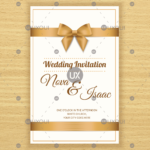 003 Free Invitation Card Template Ideas Retro Wedding Design In Invitation Cards Templates For Marriage