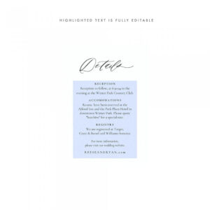 003 Template Ideas Free Wedding Accommodation Card Enclosure within Wedding Hotel Information Card Template