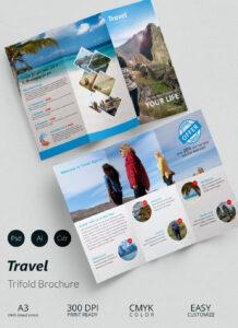 003 Travel Brochure Template Free Ideas Exceptional Indesign within Word Travel Brochure Template