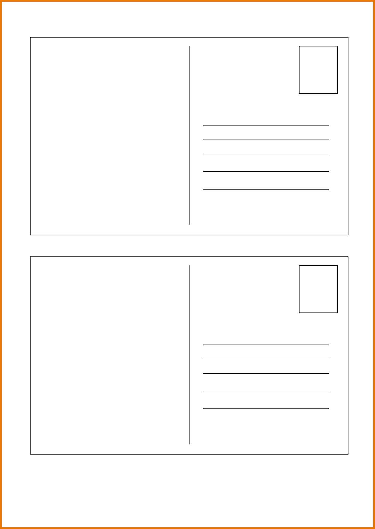 004 Blank Postcard Template Free Ideas Impressive 4X6 For Regarding Microsoft Word 4X6 Postcard Template