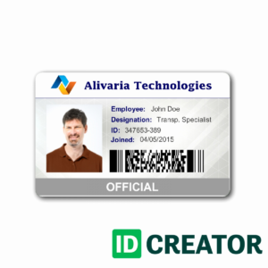 004 Employees Id Card Template Ideas Business Maker Elegant pertaining to Id Card Template Word Free