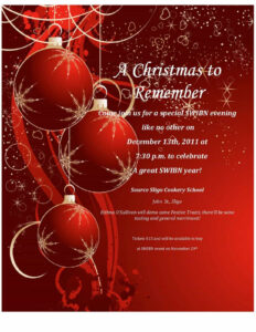 004 Free Christmas Party Invitation Templates Template within Free Christmas Invitation Templates For Word
