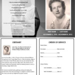 Remembrance Cards Template Free