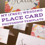 004 Free Wedding Place Card Template Ideas Photoshop For Place Card Template Free 6 Per Page