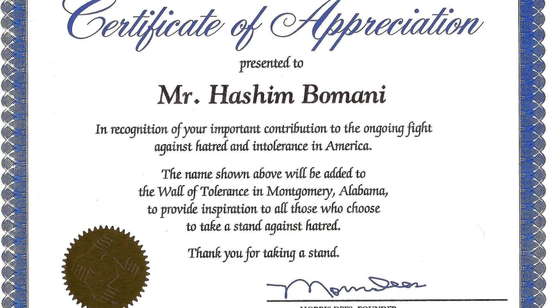 004 Template Ideas Certificates Of Appreciation Templates In Sample Certificate Of Recognition Template