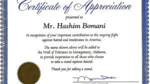 004 Template Ideas Certificates Of Appreciation Templates intended for Certificates Of Appreciation Template