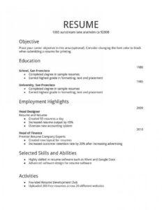 004 Template Ideas Free Basic Resume Templates Unforgettable in Free Basic Resume Templates Microsoft Word