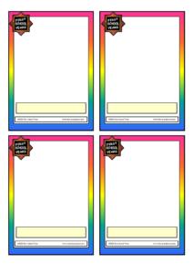 004 Template Ideas Free Flashcard Resume Printable Flashs Throughout Free Printable Flash Cards Template