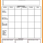 004 Template Ideas Lesson Plans For Unique Preschool Plan Inside Blank Preschool Lesson Plan Template