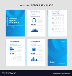 004 Template Ideas Modern Annual Report With Cover Design regarding Illustrator Report Templates