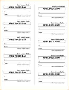 005 Free Raffle Ticket Template Tickets Photo Templates For throughout Free Raffle Ticket Template For Word