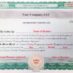005 Llc Membership Certificate Template Member Staggering within Llc Membership Certificate Template Word