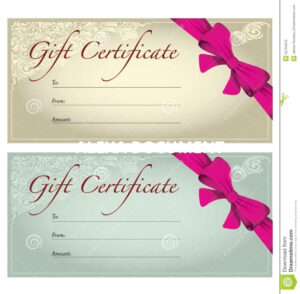 005 Salon Gift Certificate Templates Template Ideas with regard to Nail Gift Certificate Template Free