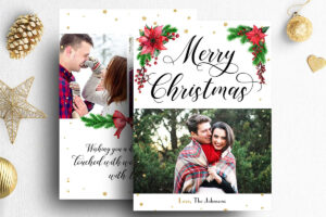 005 Template Ideas Christmas Card Templates For Photoshop for Free Christmas Card Templates For Photoshop