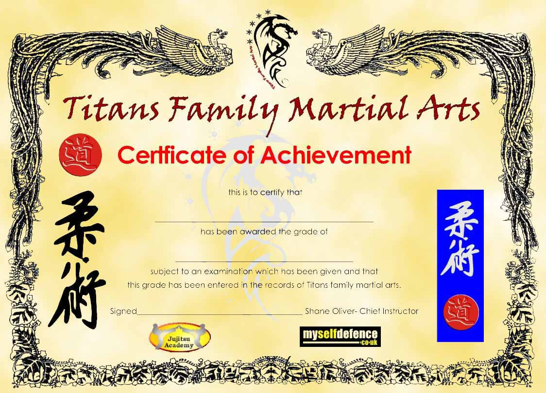 005 Template Ideas Martial Arts Certificate Border 71581 Regarding Art Certificate Template Free