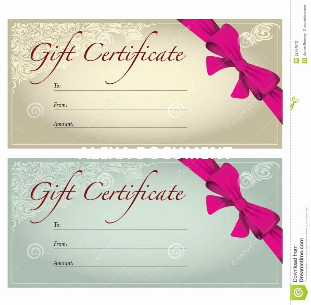 005 Template Ideas Salon Gifts Templatessplates Free Intended For Salon Gift Certificate Template