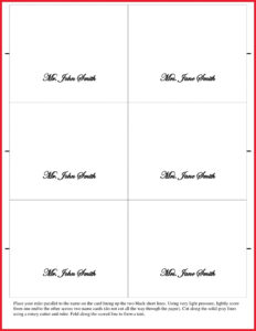 006 Bunch Ideas For Fold Over Place Card Template About with regard to Fold Over Place Card Template