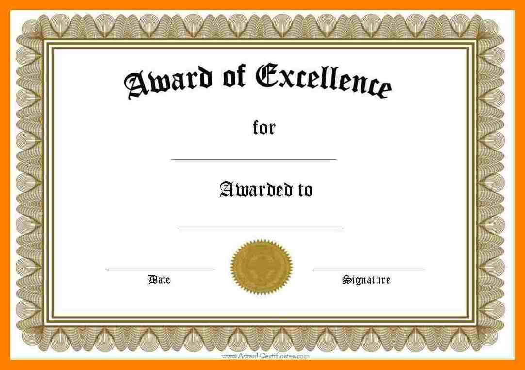 006 Certificate Of Recognition Template Word Ideas Award Intended For Template For Certificate Of Appreciation In Microsoft Word