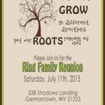 006 Family Reunion Invitation Templates Free Template Ideas With Reunion Invitation Card Templates