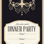 006 Free Dinner Invitation Templates Template Amazing Ideas Intended For Free Dinner Invitation Templates For Word