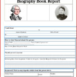 006 One Page Book Report Template New Awesome Author in One Page Book Report Template