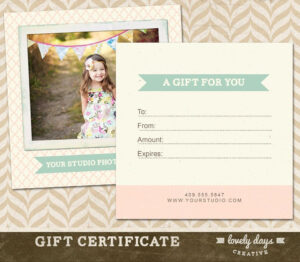 006 Photography Gift Certificate Template Free Excellent for Free Photography Gift Certificate Template