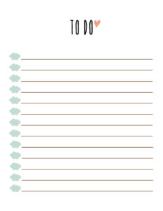 006 Printable To Do List Template Ideas Unusual Free Daily Intended For Blank To Do List Template