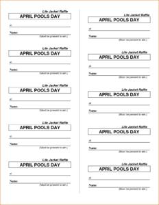 006 Template Ideas Free Raffle Ticket Printable Tickets throughout Free Raffle Ticket Template For Word