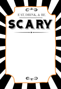 006 Template Ideas Halloween Invitation Copy Free Party in Free Halloween Templates For Word