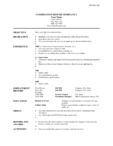 007 Combination Resume Template To Inspire You How Create with regard to Combination Resume Template Word