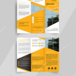 007 Depositphotos 131671406 Stock Illustration Business Tri With Regard To Brochure Template Illustrator Free Download