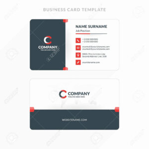 007 Double Sided Business Card Templates Template Fresh intended for Double Sided Business Card Template Illustrator