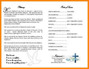 007 Free Printable Obituary Templates Template Ideas Fake in Obituary Template Word Document