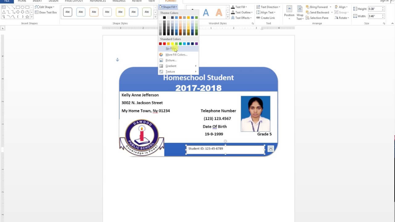 007 Id Card Template Word Maxresdefault Fantastic Ideas Pertaining To Free Id Card Template Word