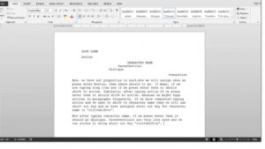 007 Microsoft Word Screenplay Template Maxresdefault Best within Microsoft Word Screenplay Template