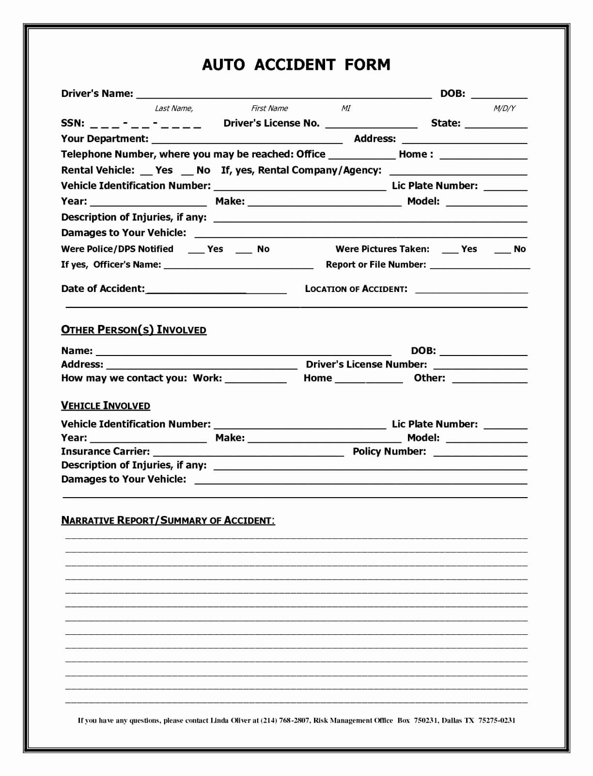 007 Template Ideas Accident Report Form Uk Of Motor Vehicle Pertaining To Motor Vehicle Accident Report Form Template