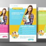 007 Template Ideas Free Education Flyer Templates School New Throughout School Brochure Design Templates